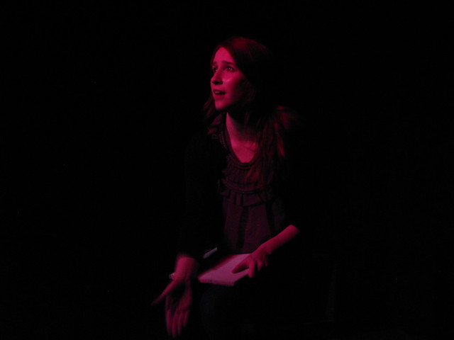 Samantha Cheeryble (Megan Alexis Stier) is telling a story.  Her story.