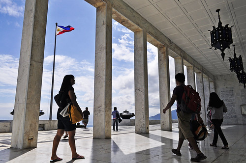 Colonade at Shrine of Valor (Bataan)