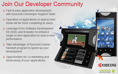 Kyocera Developer program