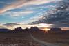 Burst of light (SF knitter) Tags: sunset sun utah flare sunburst monumentvalley fbdg milemarker13