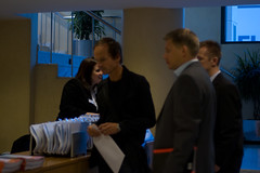 Registration desk at the Smart Grids Summit