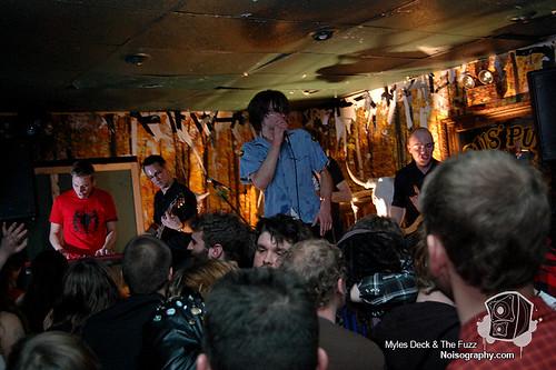 Myles Deck & The Fuzz - Gus' Pub - March 19th 2011 - 23
