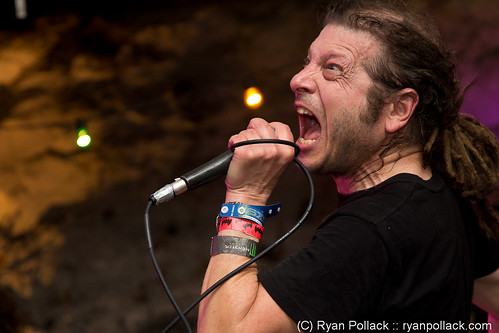 Keith Morris of OFF! plays Club DeVille during the Vice Music showcase at South by Southwest 2011