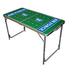 Air Force Tailgate Table Great for Tailgating, Camping and Outdoor Activities