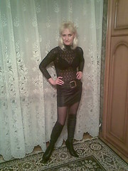 2824871_d36e5b4d5 (leathergirl55) Tags: leather boots odessa ukraine mature blond heels russian overknee nylons thighhigh thights