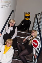 _DSF6615 (pouncy_g452) Tags: costumes hot sexy boobs cosplay latex catsuit pvc roleplay celty durarara suppersexy