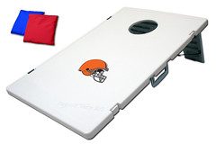 Cleveland Browns Tailgate Toss 2.0 Plastic Cornhole Boards