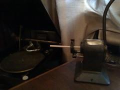 The Pencil Sharpener in action (L u S T R O) Tags: 1920s pencil vintage office 1930s bureau super made british sharpener
