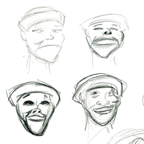 Caricature-Study---expressions---01