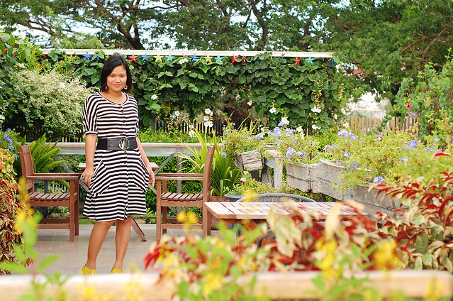 thrifted Stripe Dress