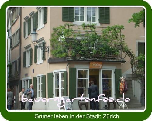 Grüner leben in der Stadt: Zürich