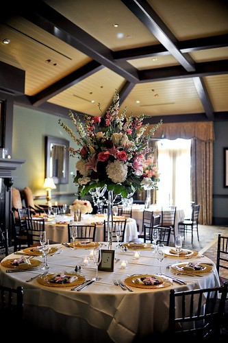 TPC Sawgrass reception, Rose of Sharon florist