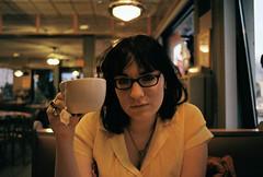 Shannon Tea (SomeDumbRobot) Tags: girl 35mm canon glendale tea ae1 queens shannon canonae1 cvs
