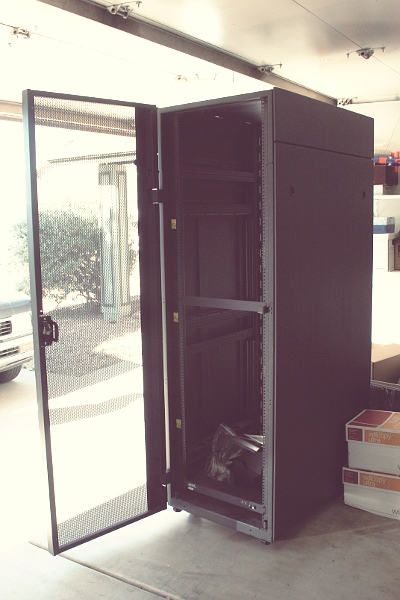 DITL 13: New server rack
