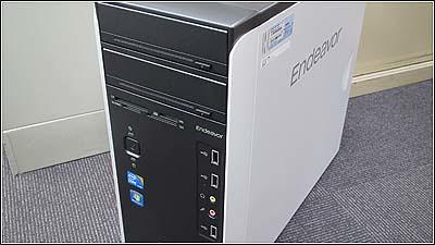 EPSON Endeavor MR6700をハイパワーマシンにして導入