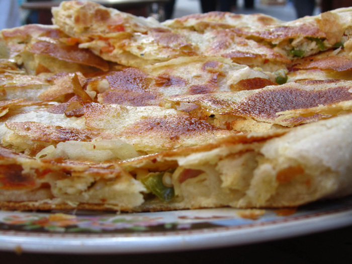 Egyptian Pizza