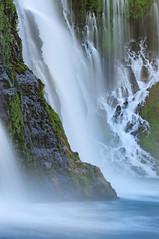 Roaring Seep - Burney Falls, California (Joshua Cripps) Tags: california cold green water waterfall spring tripod shasta lush powerful redding manfrotto burneyfalls acratech ballhead joshuacripps nikond300s