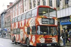 Dublin Bus RH123 (91D10123). (Fred Dean Jnr) Tags: alexander april1998 leyland rh oconnellstreet olympian pboro heinztomatoketchup dublinbus busathacliath alloverad dublinbusroute10 rhclass rh123