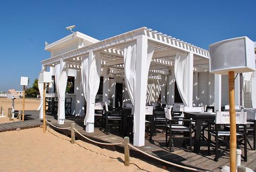 PuroBeach lounge Vilamoura, Algarve, Portugal