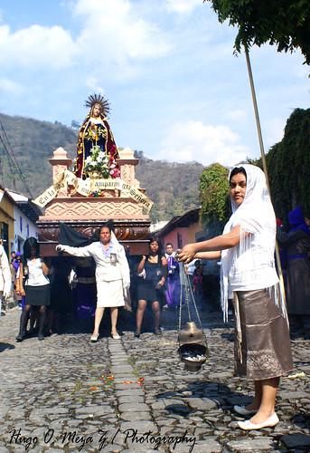 Procesión de La Iglesia de Santa Ana , Antigua Guatemala09