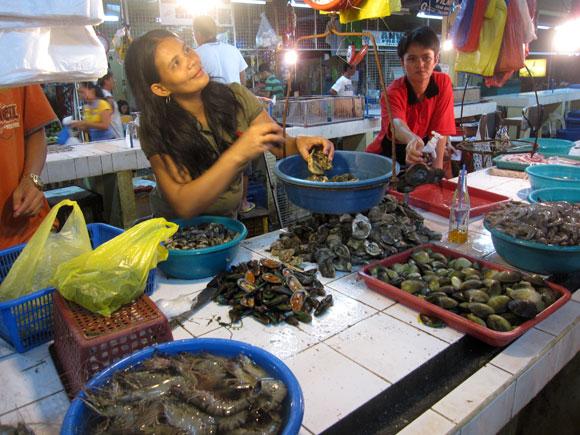 Seafood Dampa in Manila