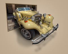 Excalibur Classic Car, Sigenza (Spain), HDR (marcp_dmoz) Tags: auto espaa classic car photoshop out spain nikon map cut guadalajara coche handheld nikkor 1735mmf28d effect tone hdr spanien clasico excalibur efecto oob wagen pkw sigenza photomatix tonemapped tonemapping tonemap d700