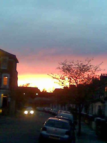 peckham sunset