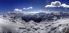 Snow in April (rawshooter72) Tags: winter panorama mountain snow ski alps skiing panoramic hdr ischgl alpin silvretta