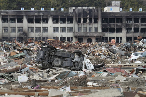 門脇小学校 3.11 Japan Earthquake and Tsunami