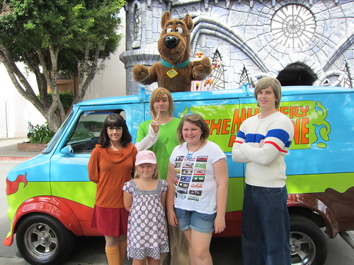 With the Scooby Gang