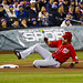 Jayson Werth slides into third base
