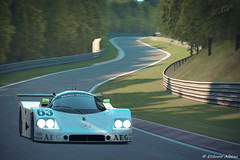 Sauber C9 (YackNonch) Tags: auto car race automobile sony voiture racing course videogame sauber playstation c9 granturismo ps3 gt5 jeuxvido photomode granturismo5