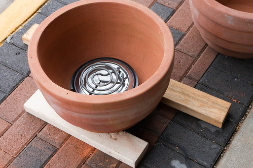 Ceramic Pot Smoker