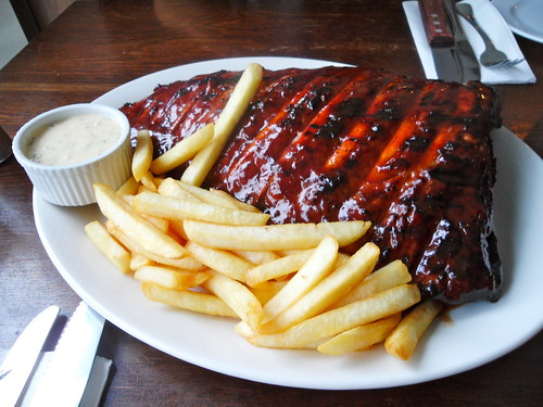 Hurricane's Full Rack Pork Ribs