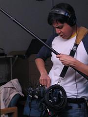 Brian Adjusts audio
