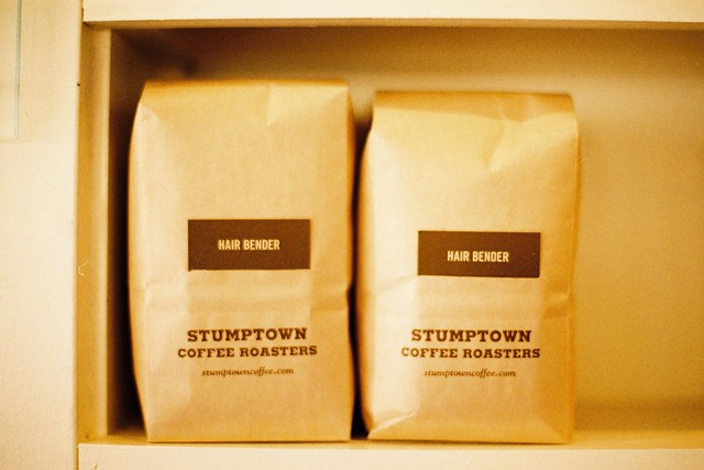 Stumptown Coffee at Cupcake Royale