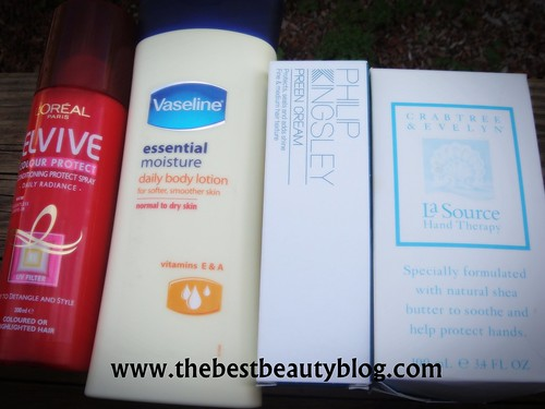 Unopened beauty products