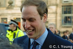 Prince William in St. Andrews 2 (Youngci) Tags: wedding engagement anniversary royal celebration standrews met crowds royalty princewilliam 2011 katemiddleton 600th