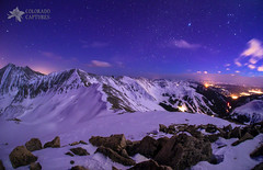 Cupid's Celestial View (Mike Berenson - Colorado Captures) Tags: mountains night stars colorado hike alpine rockymountains keystone cupid allrightsreserved lovelandpass summitcounty continentaldivide arapahoebasin grizzlypeak grayspeak torreyspeak coloradocaptures mikeberenson copyright2011bymikeberenson