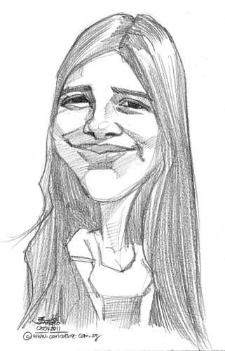 caricature in pencil - 15