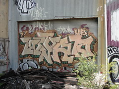 WYRD (Lurk Daily) Tags: graffiti bay east wyrd ub adk