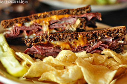 Reuben at Rafter's Food & Spirits ~ Stillwater, MN