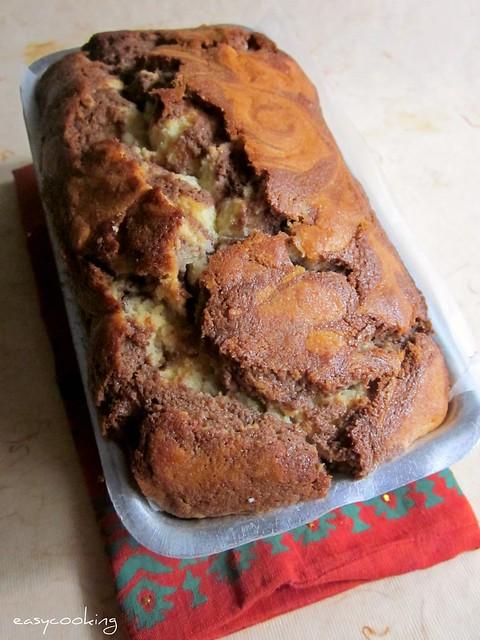 Marble Loaf Cake 1
