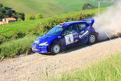 Peugeot 206 Rallycar (claudio.santucci) Tags: rally 206 wrc aprile toscana peugeot peugeot206 colline polvere trofeo sterrato valdicecina liburna trofeoterra