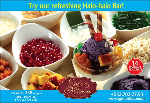 Halo-Halo Bar