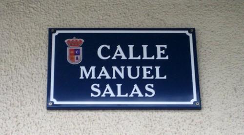 Calle Manuel Salas, Porcuna.