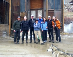 CMC Silver Plume Snowshoe Team