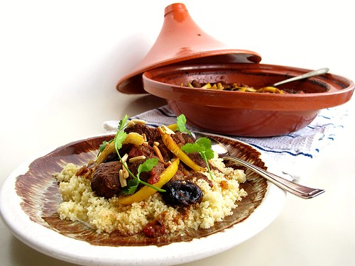 Lamb Tagine with Prunes and Preserved Lemons