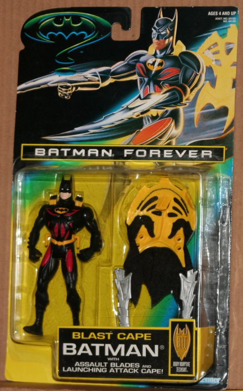 Batman Forever Blast Cape Action Figure