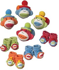 Wrist Rattles and Baby Booties Recalled due to Choking Hazard